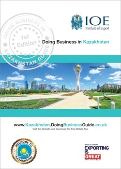 Doing Business in Kazakhstan Guide cover
